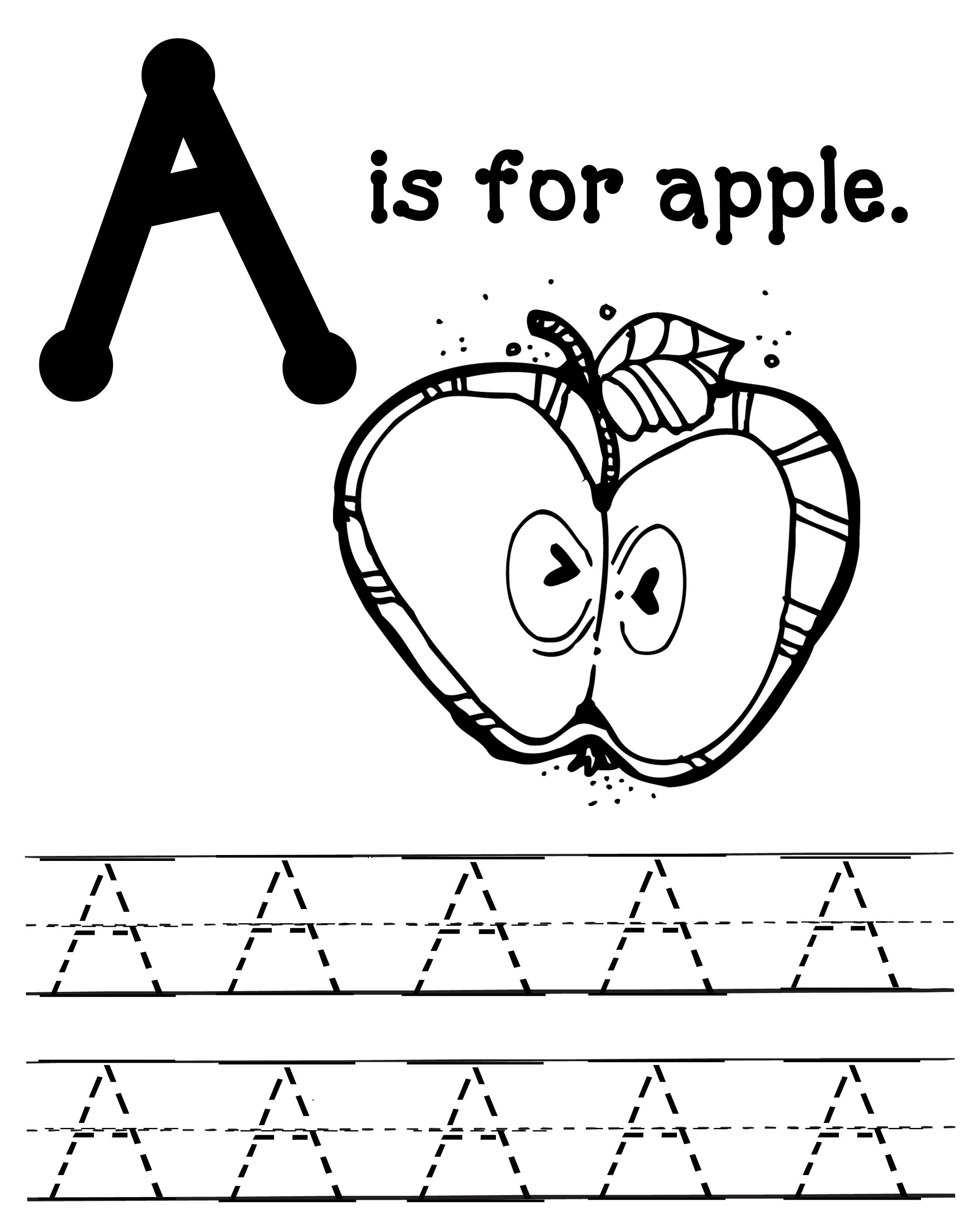 7 Best Images Of Blank Abc Worksheets