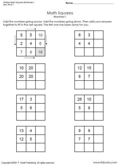 12 Best Images of Worksheets Math Function Boxes