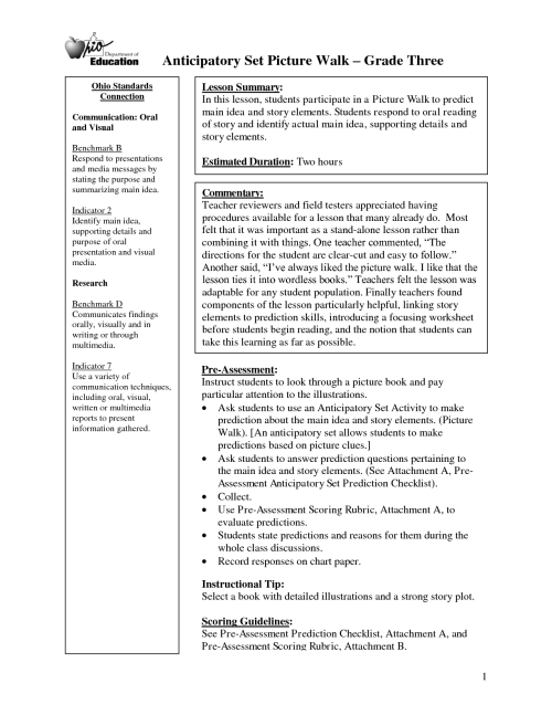 small resolution of Worksheets Supporting Details Paragraph   Printable Worksheets and  Activities for Teachers