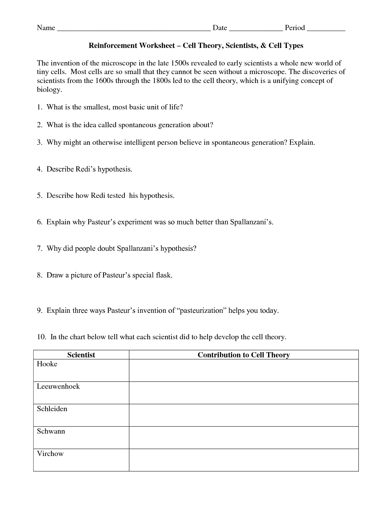 17 Best Images Of Cells Of The World Worksheet