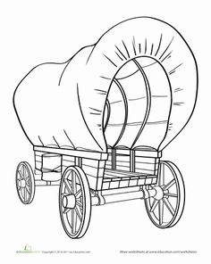 17 Best Images of Pioneer History For Kids Worksheets