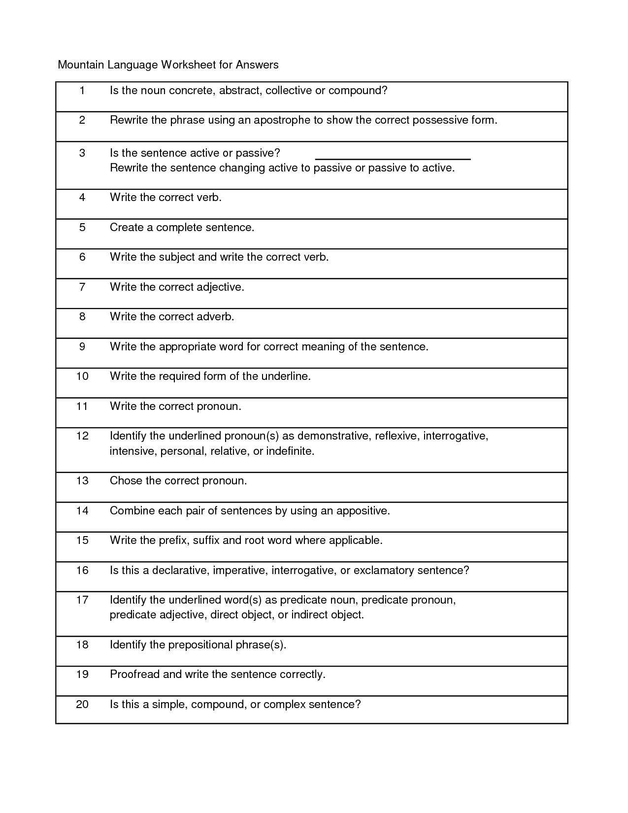 17 Best Images Of Adjective Worksheet Grade K