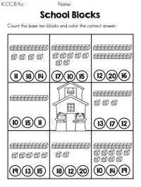 15 Best Images of Base Ten Blocks Worksheets - Base Ten ...