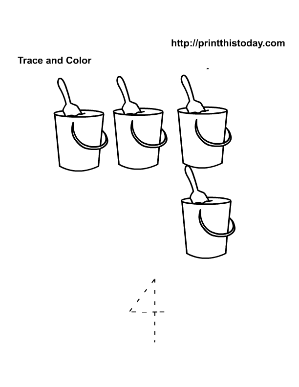 15 Best Images of Number Eight Worksheets For Preschool