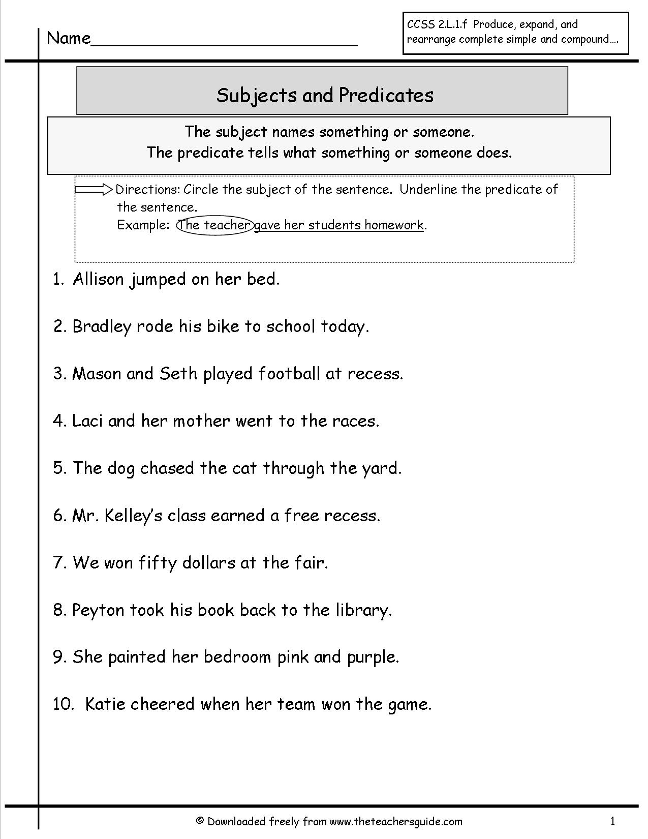 Great Compromise Worksheet
