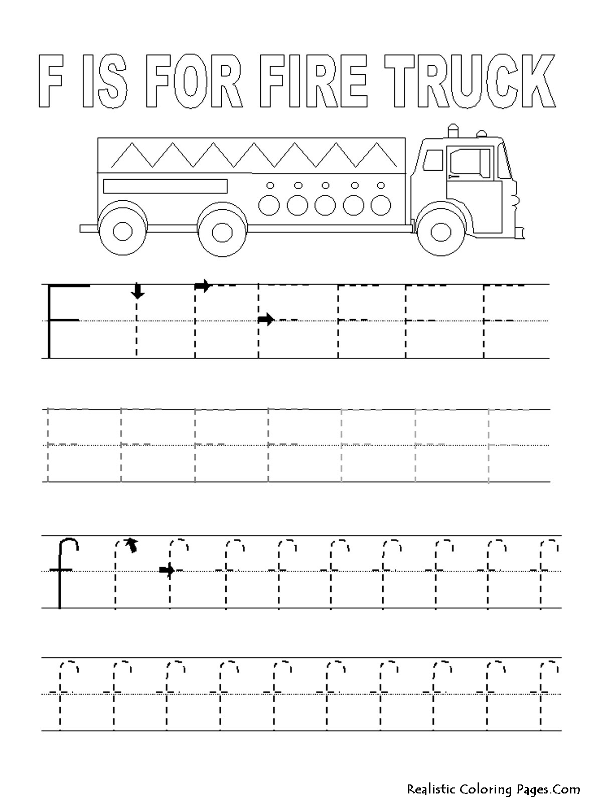 Tracing Letters Worksheet Az