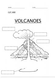 16 Best Images of Volcano Parts Worksheet KB Teacher's