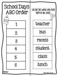 12 Best Images of Alphabetical Order Worksheets 1st Grade ...