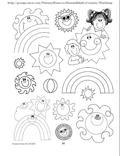 11 Best Images of Kindergarten Seasons Worksheets