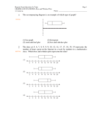 10 Best Images of Box And Whisker Worksheet