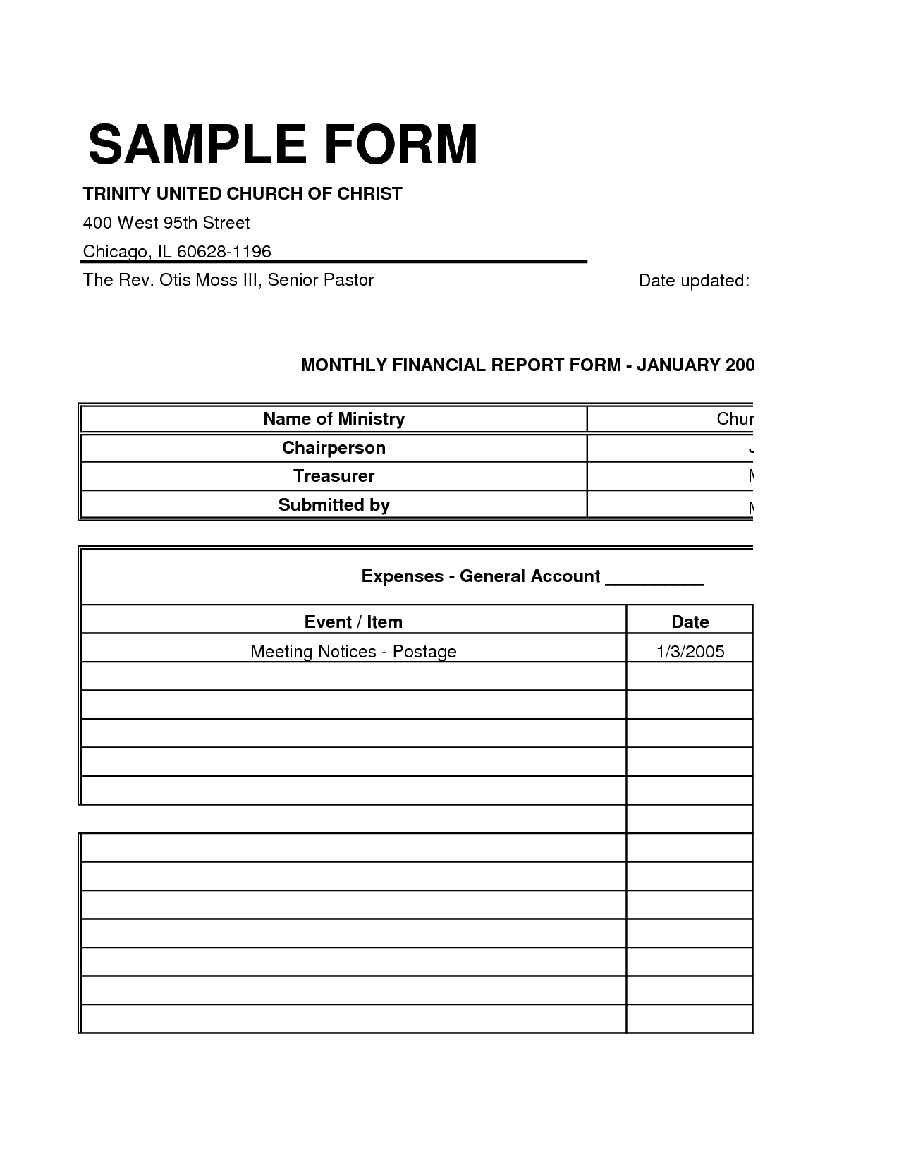 11 Best Images Of Financial Worksheet Form