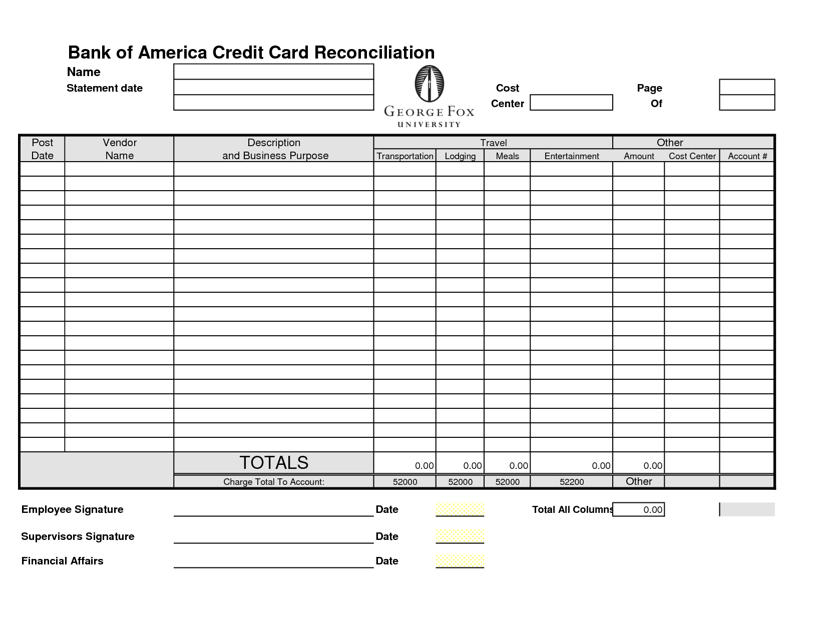 14 Best Images Of Credit Card Balance Worksheet
