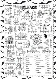 14 Best Images of Worksheets Cut And Paste Halloween