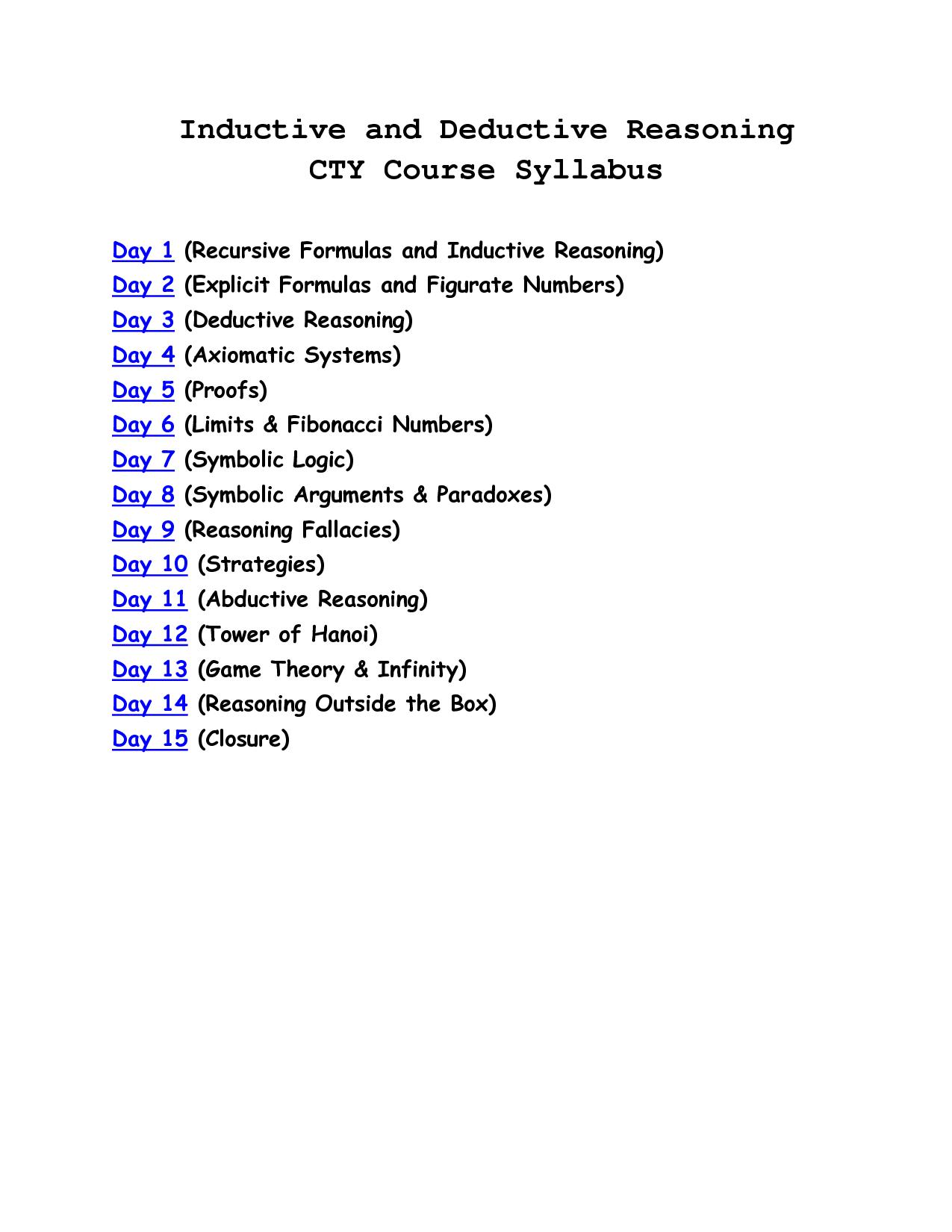 Porportional Reasoning Worksheet