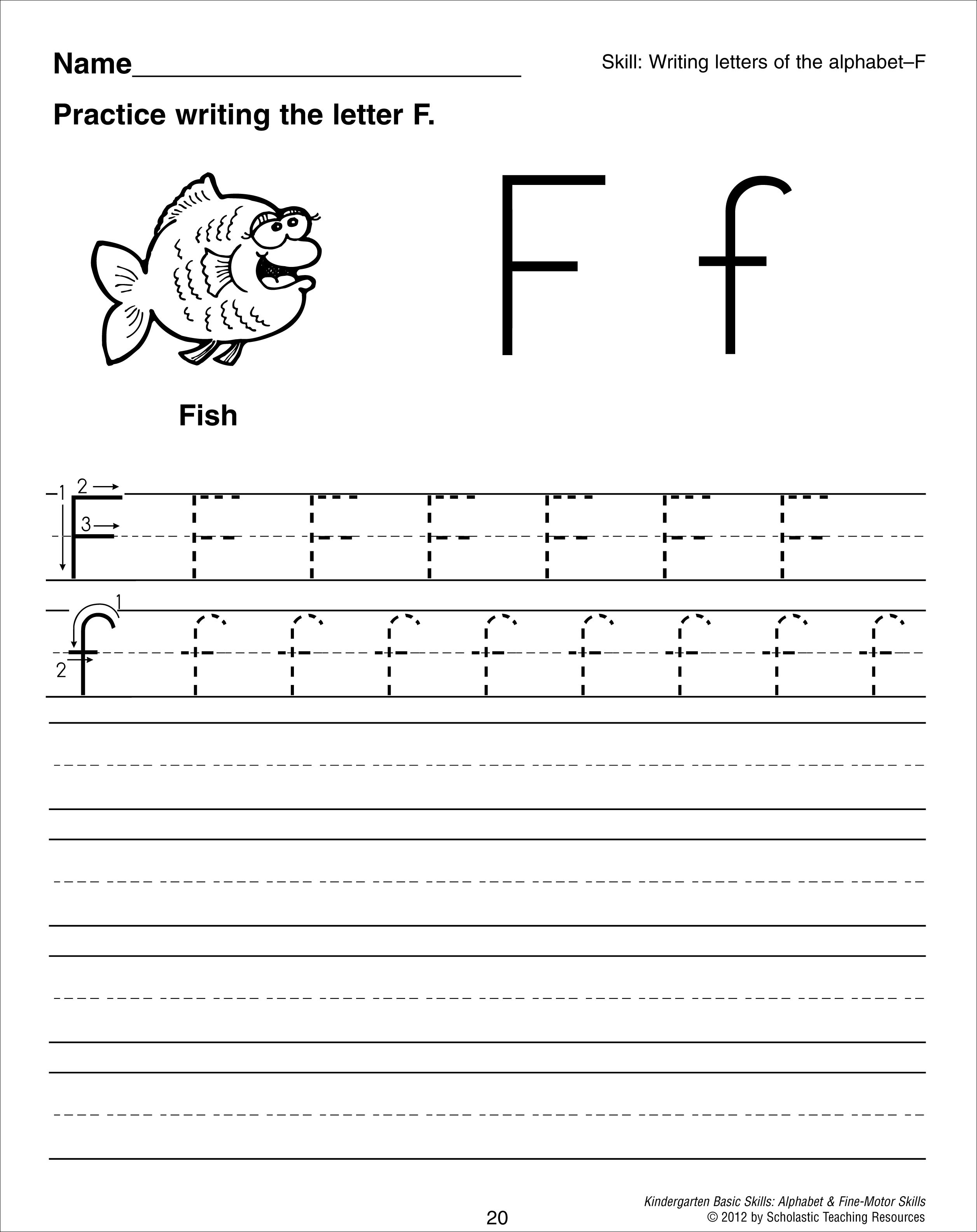 11 Best Images Of Q Writing Worksheet