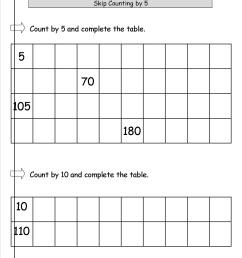 Skip Counting By 5s And 10s Worksheet   Printable Worksheets and Activities  for Teachers [ 1650 x 1275 Pixel ]