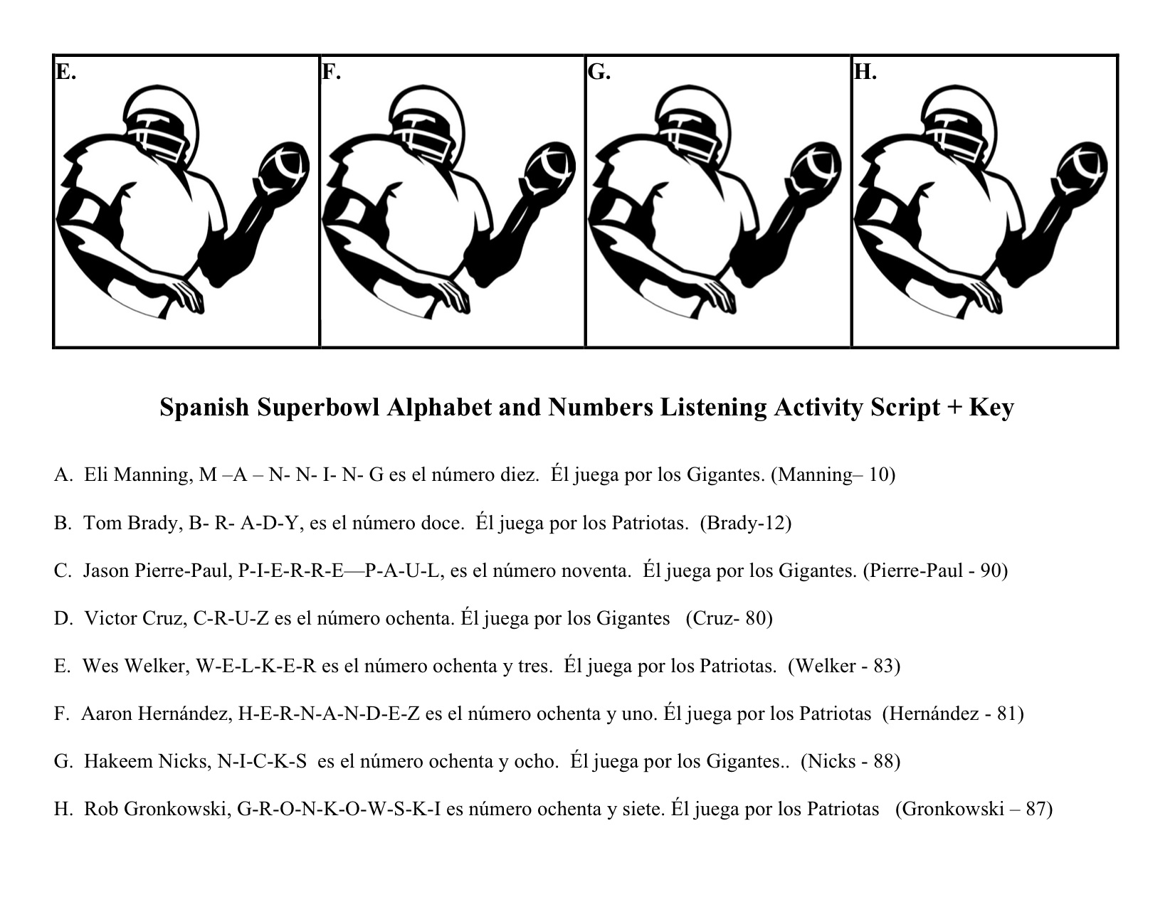 7 Best Images Of Spanish Superlative Worksheets