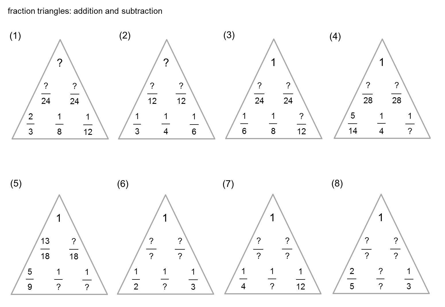8 Best Images Of Drawing Triangles Worksheet