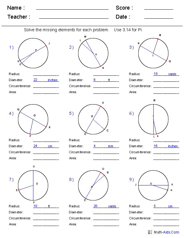 11 Best Images of 10th Grade Geometry Worksheets