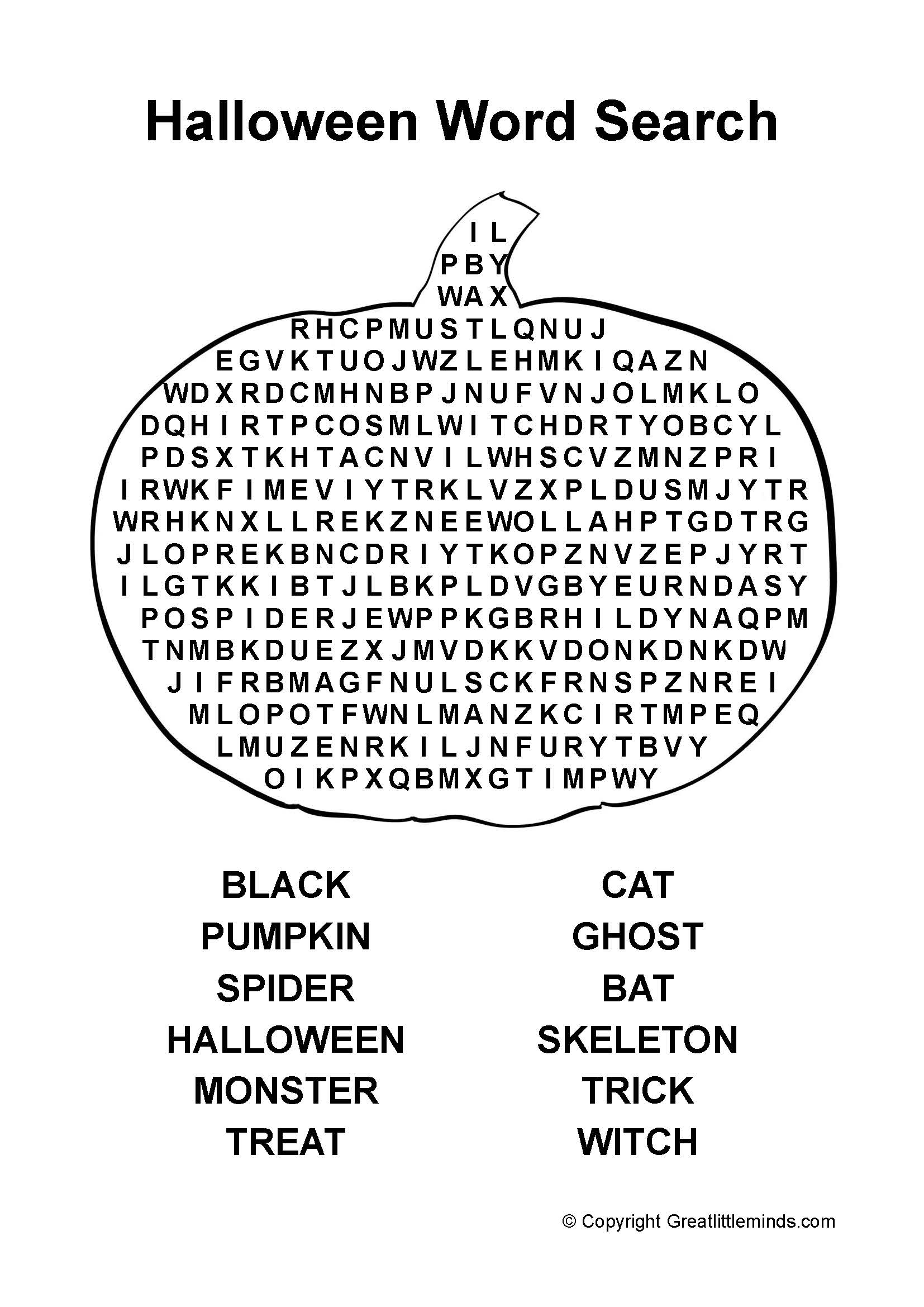 13 Best Images Of Halloween Hidden Pictures Worksheets