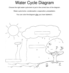 9 best images of water cycle diagram blank worksheet the water cycle diagram and explanation model water cycle diagram [ 1275 x 1650 Pixel ]