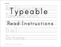 16 Best Images of Create Blank Handwriting Worksheets ...