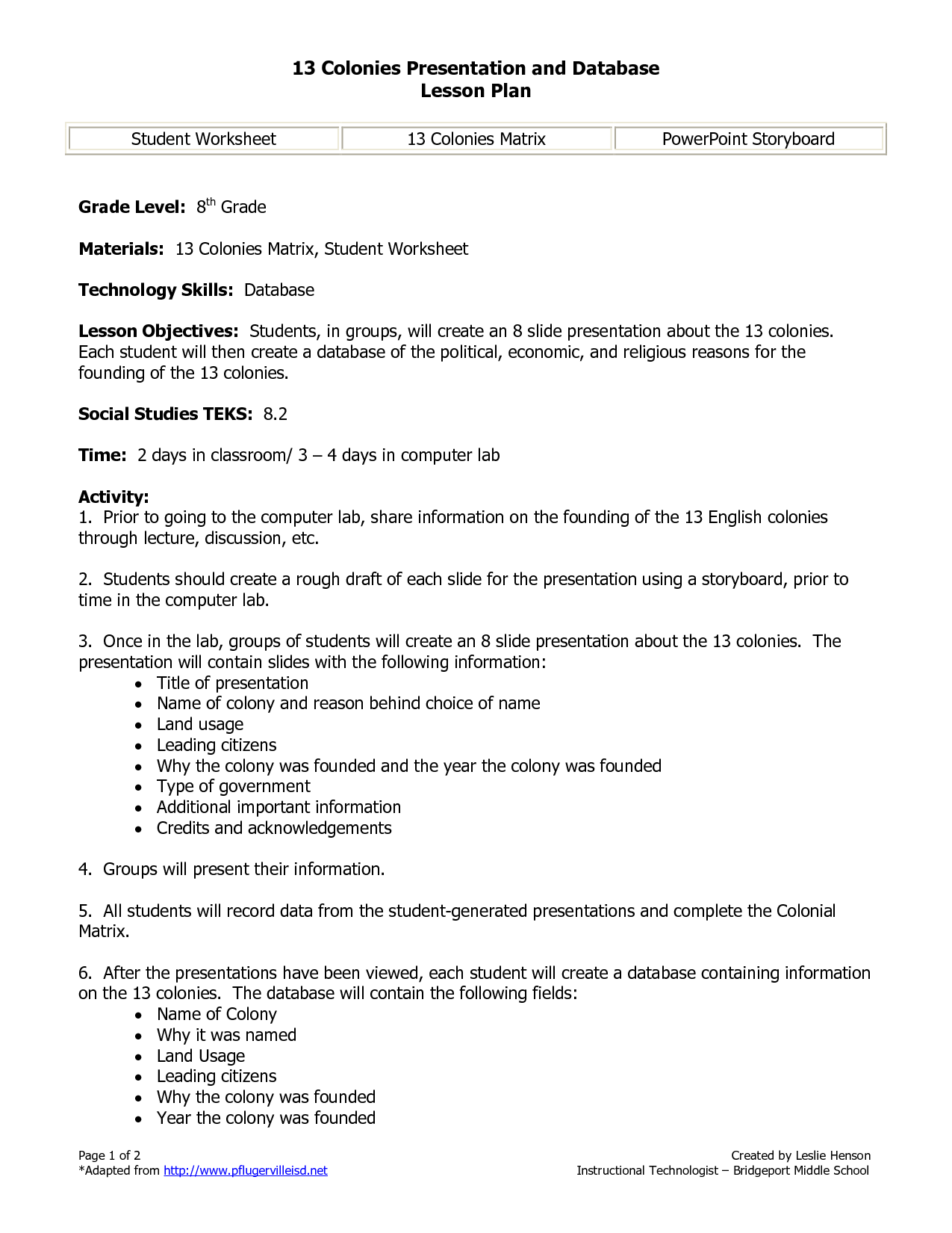Social Stu S Worksheet Colonies Map