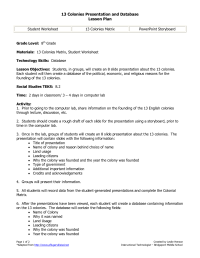 16 Best Images of Thirteen Colonies Worksheets 5th Grade ...