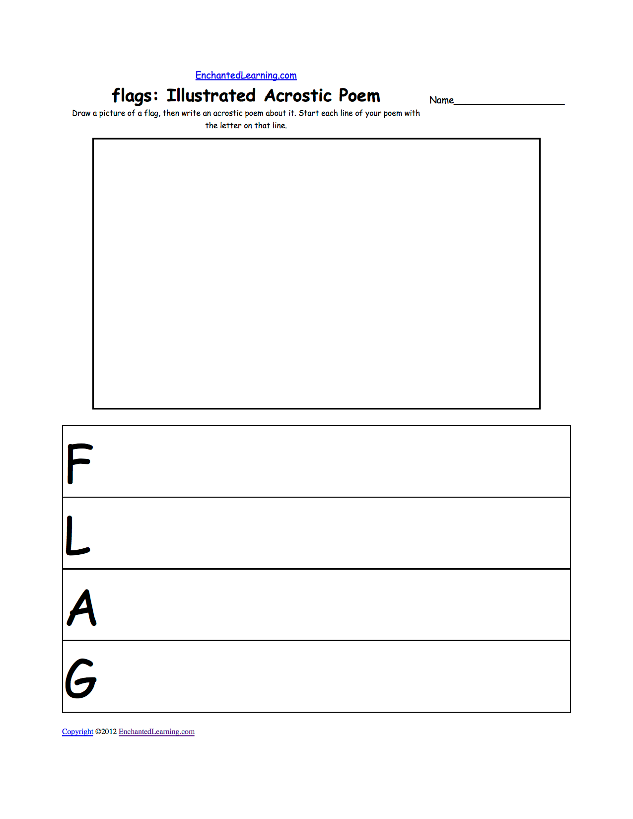 10 Best Images Of Flag Worksheets For Preschool
