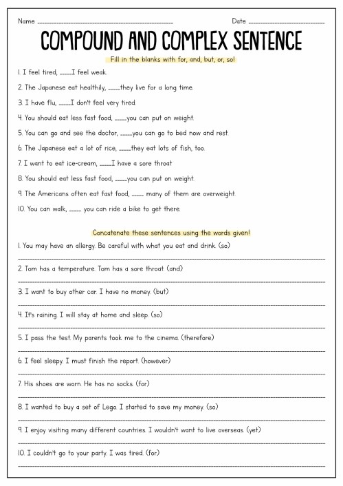 small resolution of Sentence Fragment Worksheets 5th Grade   Printable Worksheets and  Activities for Teachers
