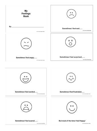 13 Best Images of Printable Worksheets Feelings And