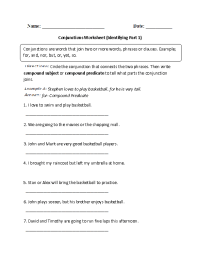 16 Best Images of Identifying Subject And Verb Worksheets ...