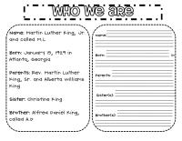 11 Best Images of Martin Luther King Jr Worksheets Second ...