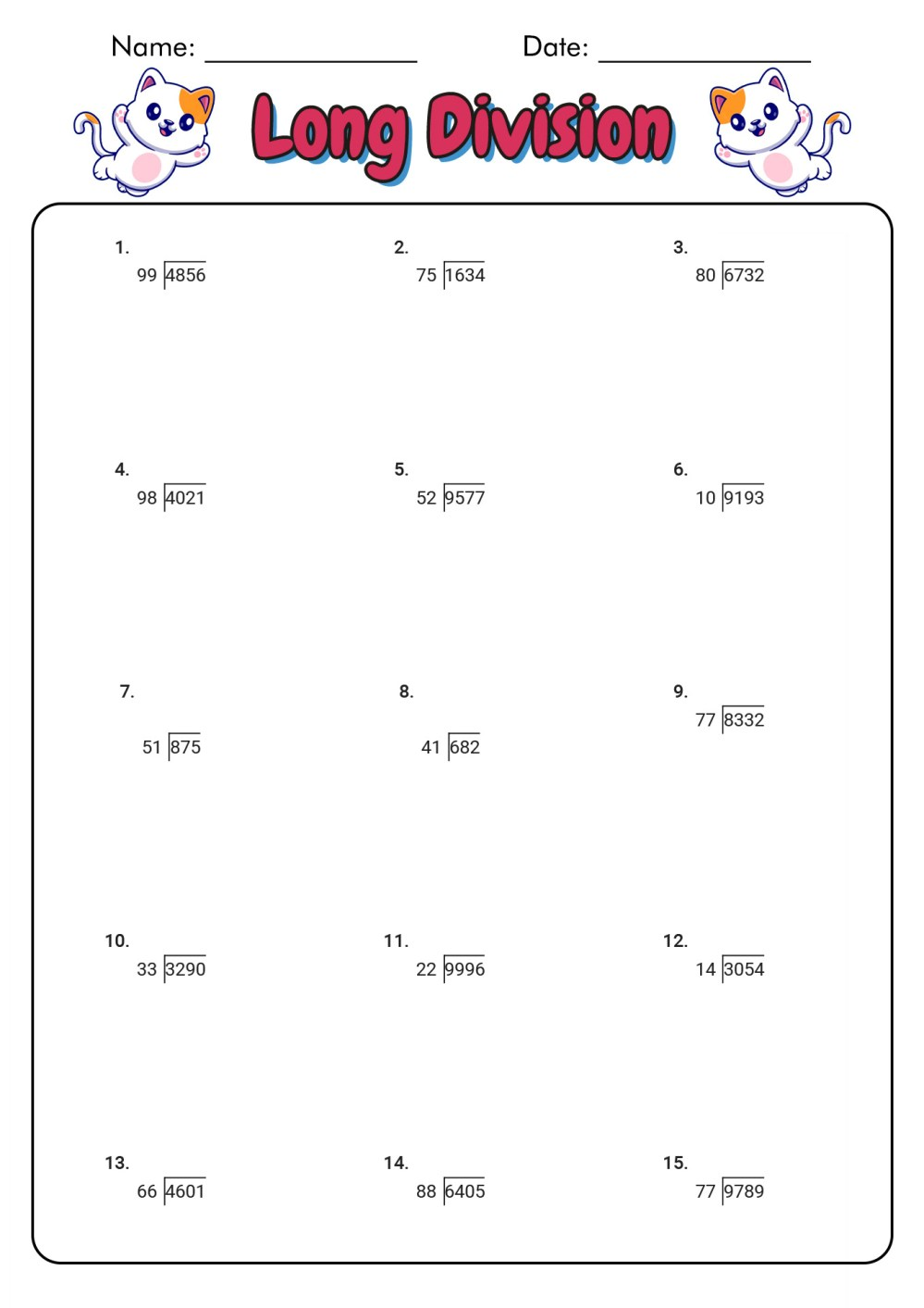 medium resolution of Worksheet For Division Grade 2   Printable Worksheets and Activities for  Teachers