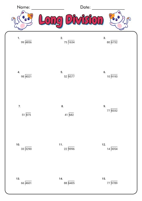 small resolution of Worksheet For Division Grade 2   Printable Worksheets and Activities for  Teachers