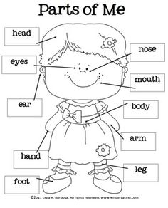 15 Best Images of All About My Family Preschool Worksheet