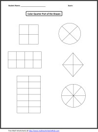 19 Best Images of 2nd Grade Math Fractions Worksheets ...