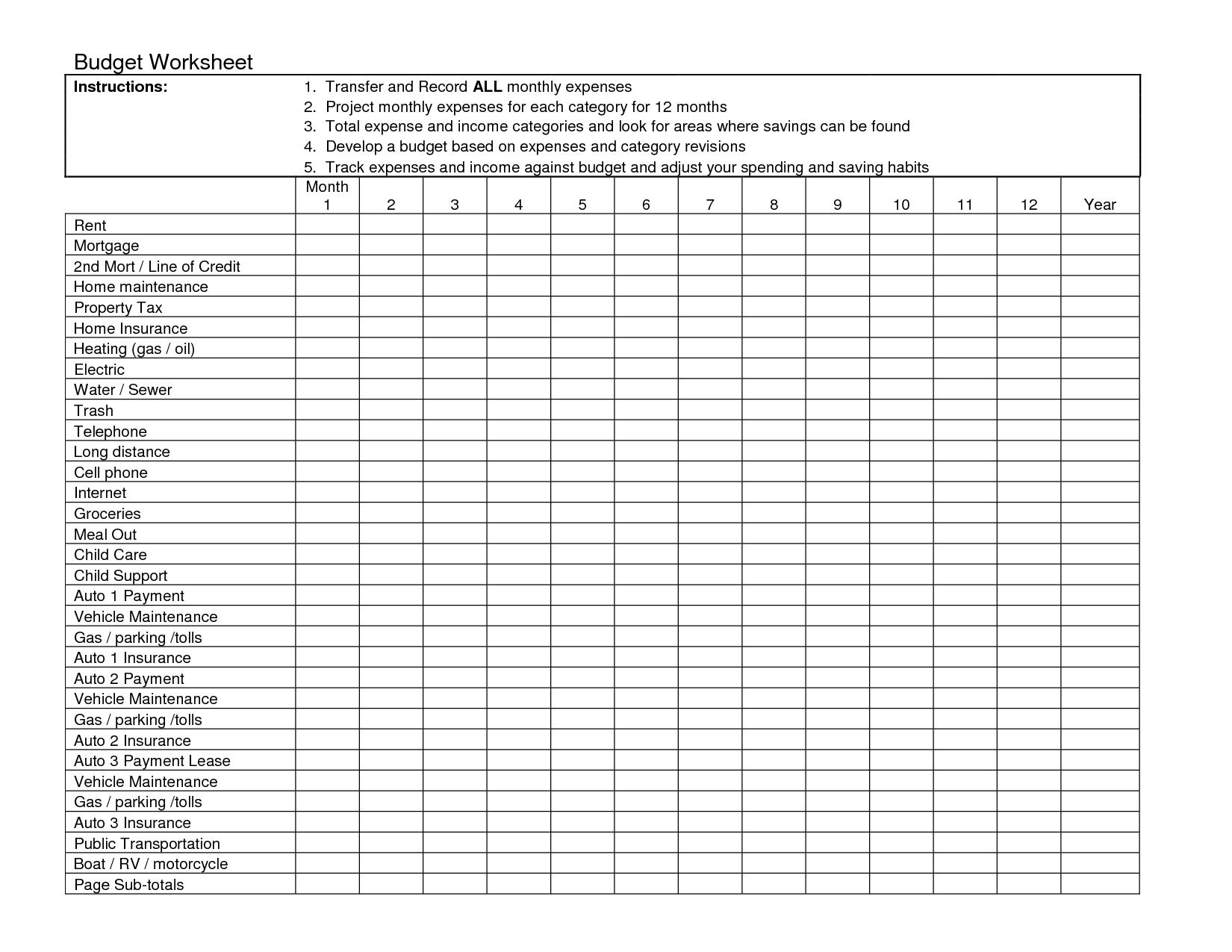 11 Best Images Of Sample Excel Worksheets