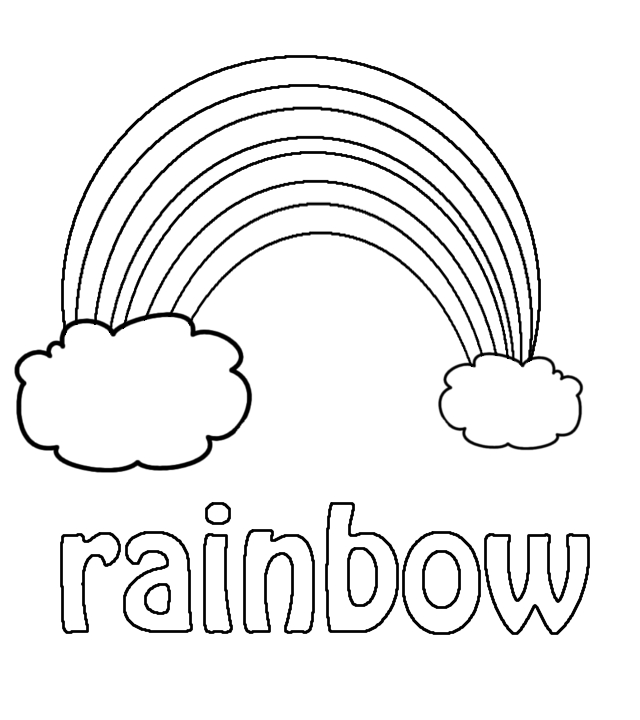 13 Best Images of Color Rainbow Kindergarten Worksheet