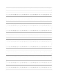 11 Best Images of Blank Writing Worksheets - Blank Writing ...