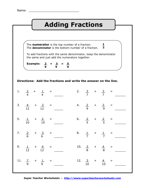 small resolution of 4th Grade Math Addition Worksheets   Printable Worksheets and Activities  for Teachers
