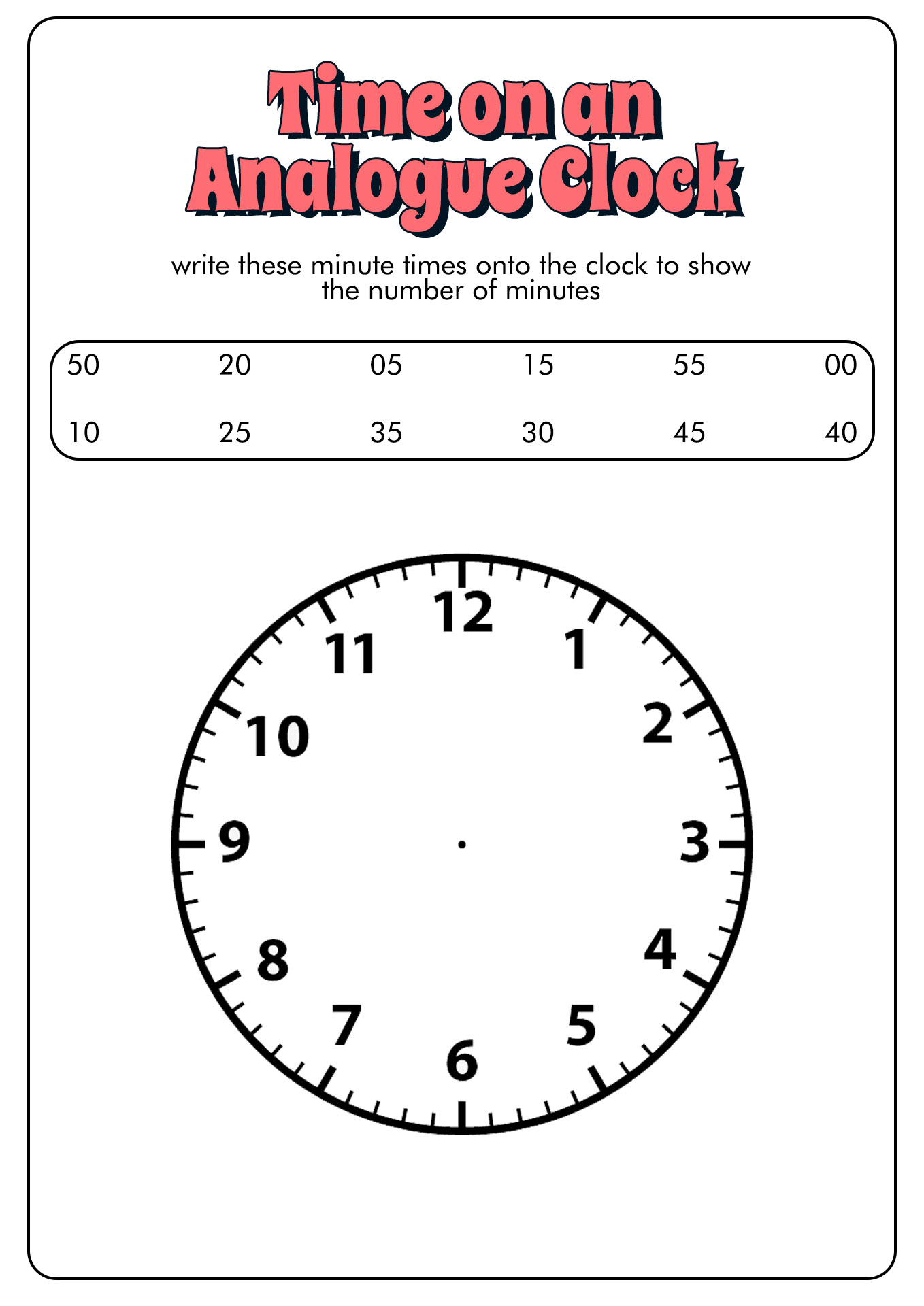 14 Best Images of Time In 15 Minute Increments Worksheet