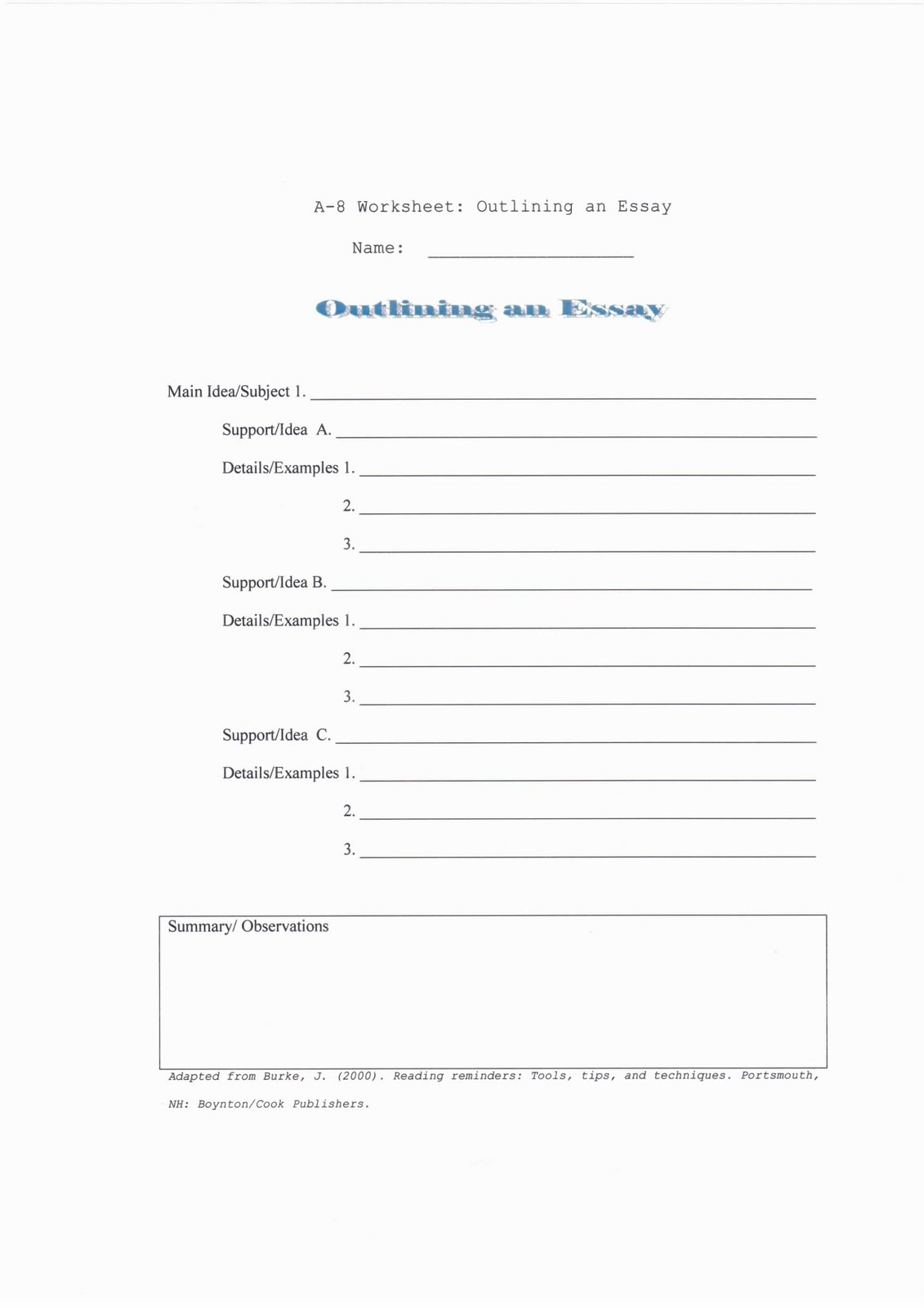 15 Best Images Of Persuasive Paragraph Worksheet Format