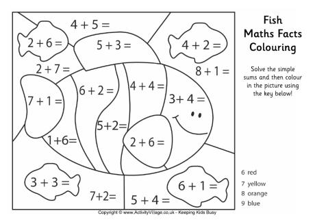 16 Best Images of Free Multiplication Hidden Picture