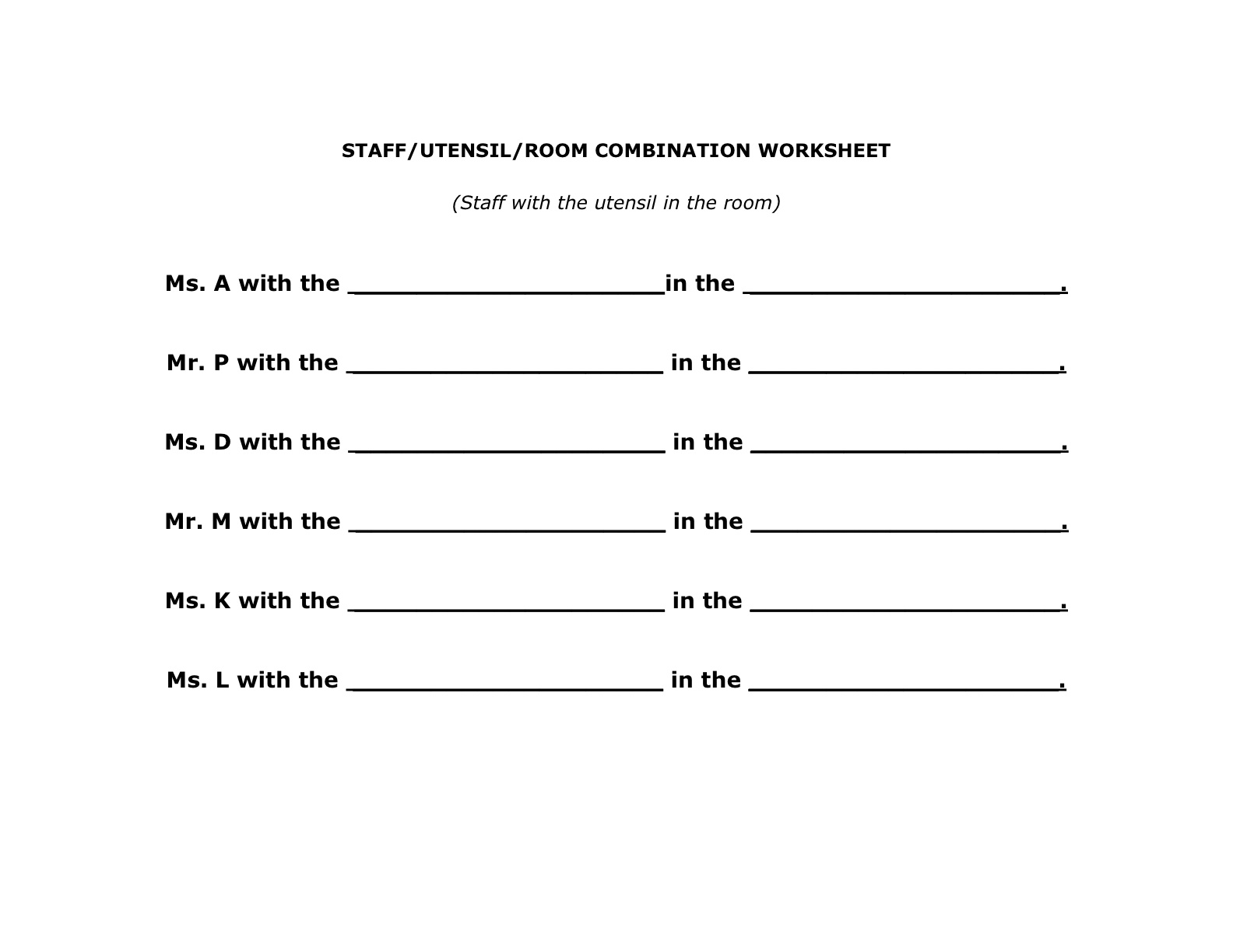 16 Best Images Of Worksheets Word Detective