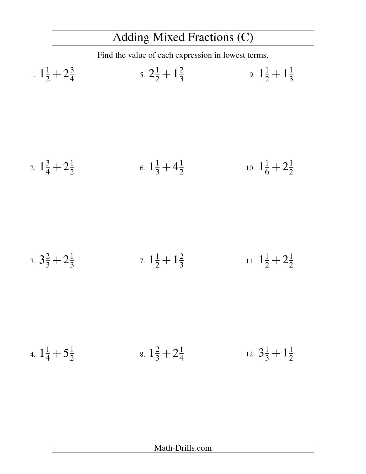 16 Best Images Of Easy Simplifying Fractions Worksheets