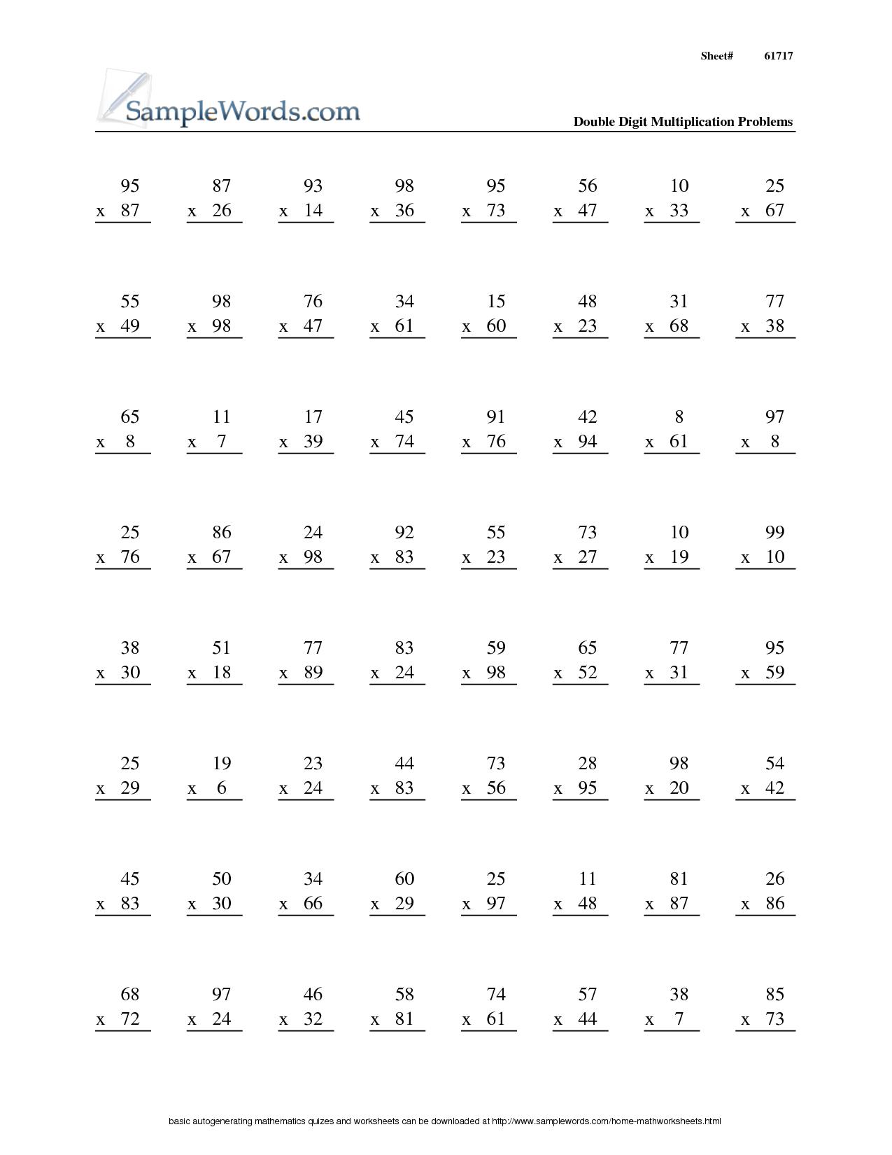 15 Best Images Of 2nd Grade Subtraction Worksheets 100