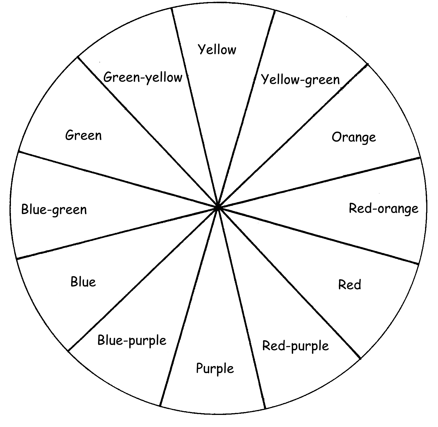 12 Best Images Of Color Theory Worksheet