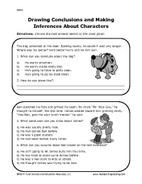 12 Best Images of Drawing Conclusions Worksheets 5th Grade ...