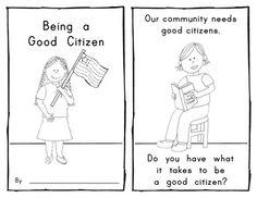 12 Best Images of Kindergarten Responsibility Worksheets